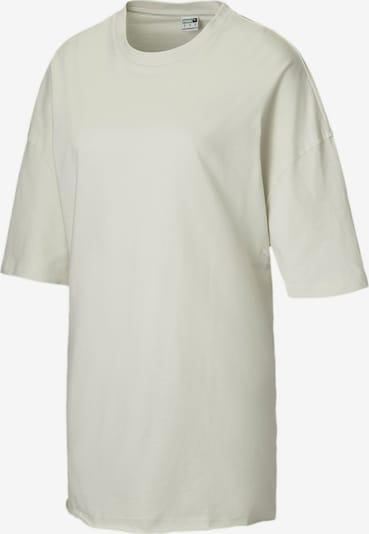 PUMA T-shirt oversize en gris clair, Vue avec produit