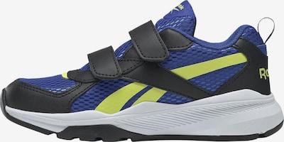 REEBOK Sportschuh in blau / neongelb, Produktansicht