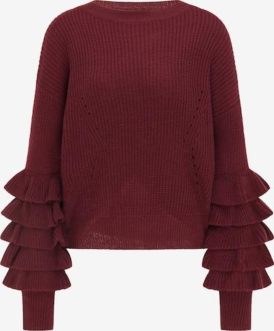 IZIA Pullover in dunkelrot, Produktansicht