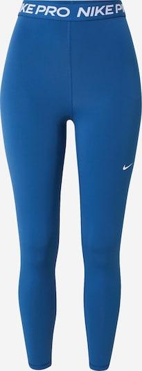 NIKE Спортен панталон в синьо / бяло, Преглед на продукта