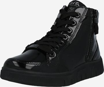 ARA High-Top Sneakers in Black