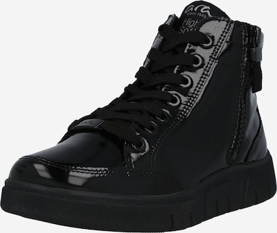 Sneaker înalt ARA pe negru, Vizualizare produs