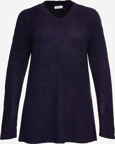 SHEEGO Sweter w kolorze ciemnofioletowym, Podgląd produktu