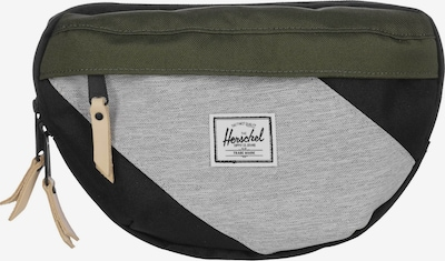 Herschel Gürteltasche 'Nineteen' in grau / grün / schwarz, Produktansicht