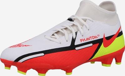 Ghete de fotbal 'Phantom GT2 Academy' NIKE pe galben neon / roșu deschis / negru / alb, Vizualizare produs