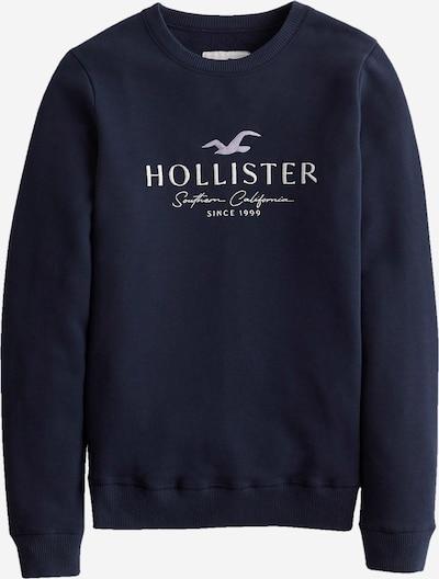 HOLLISTER Collegepaita värissä laivastonsininen / valkoinen, Tuotenäkymä