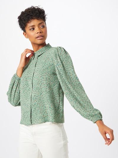 Bluză 'Piper' JACQUELINE de YONG pe verde, Vizualizare model