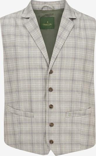 Charles Colby Gilet de costume 'Duke Hirst' en beige / marine / gris, Vue avec produit