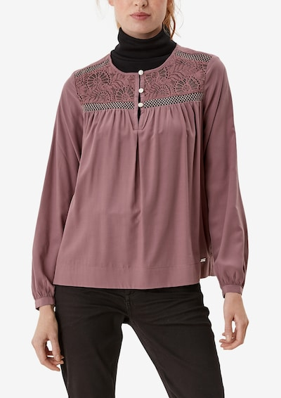 Q/S by s.Oliver Blouse in Purple, View model