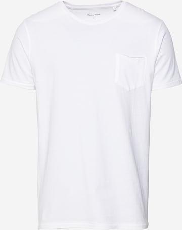 KnowledgeCotton Apparel Skjorte 'ALDER' i hvit