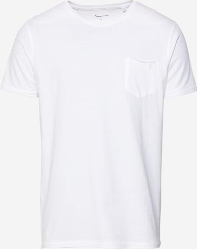KnowledgeCotton Apparel T-Shirt 'ALDER' en blanc cassé, Vue avec produit