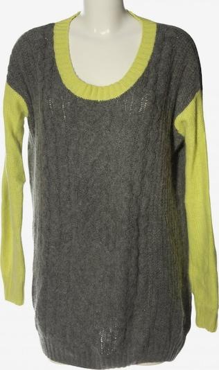 JUST FEMALE Pulloverkleid in L in pastellgelb / hellgrau, Produktansicht