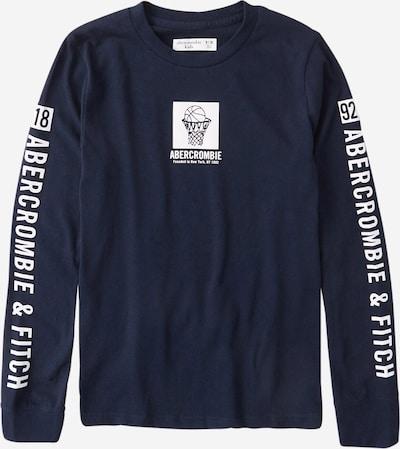 Abercrombie & Fitch Shirt in navy / weiß, Produktansicht