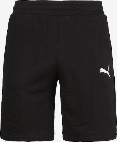 PUMA Trainingsshort 'Team Goal 23' in schwarz / weiß, Produktansicht