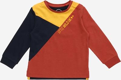 s.Oliver Shirt in de kleur Donkerblauw / Geel / Donkerrood, Productweergave