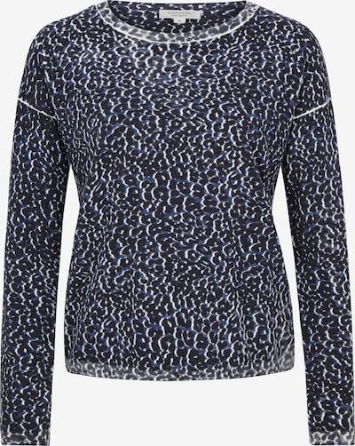 Ci comma casual identity Pullover in blau / schwarz / weiß, Produktansicht