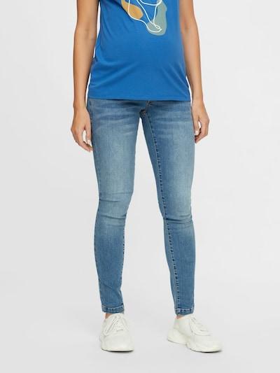 MAMALICIOUS Jeans 'York' in blue denim, Modelansicht