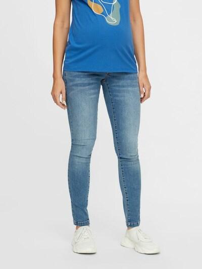 Jeans 'York' MAMALICIOUS pe albastru denim, Vizualizare model