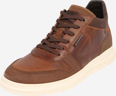 Sneaker low BULLBOXER pe maro coniac, Vizualizare produs