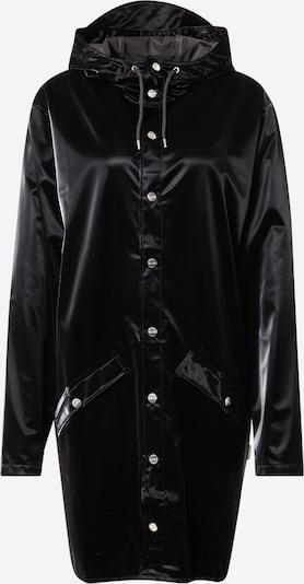 RAINS Chaqueta de entretiempo en negro, Vista del producto