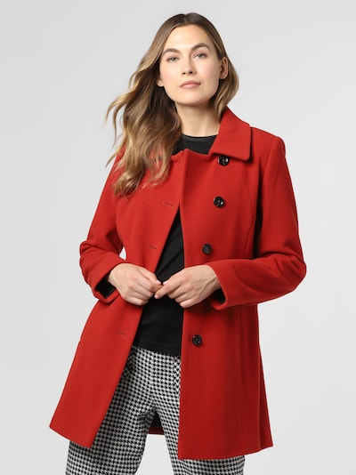 Franco Callegari Mantel in rot, Modelansicht