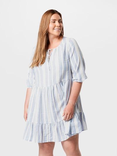 kék / fehér ABOUT YOU Curvy Nyári ruhák 'Pace', Modell nézet