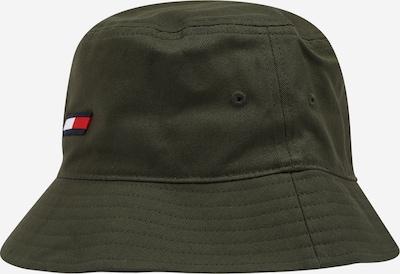 Tommy Jeans Hūte, krāsa - tumši zils / haki / sarkans / balts, Preces skats