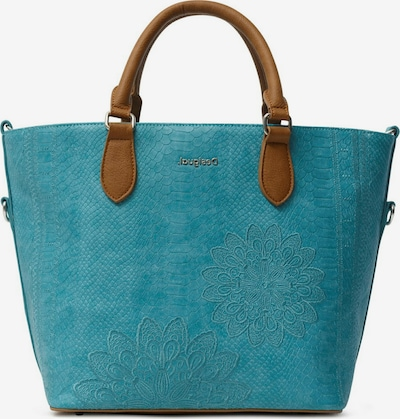 Desigual Shopper 'Aquiles Florida' en azul / marrón, Vista del producto