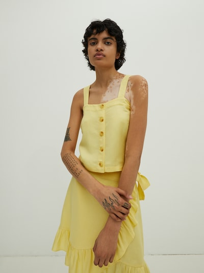 EDITED Halenka 'Elva' - žlutá, Model/ka