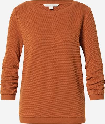 TOM TAILOR DENIM Sweatshirt in Cognac, Item view