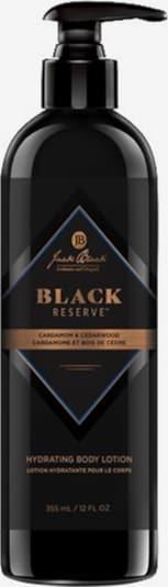 Jack Black Body Lotion in schwarz, Produktansicht
