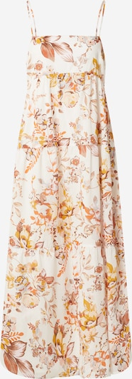 Bardot Kleid in beige / creme / orange / weiß, Produktansicht