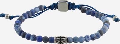 FOSSIL Náramok - modrá / čierna / strieborná, Produkt