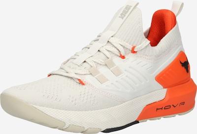 UNDER ARMOUR Urheilukengät 'Project Rock 3' värissä beige / oranssi / valkoinen, Tuotenäkymä