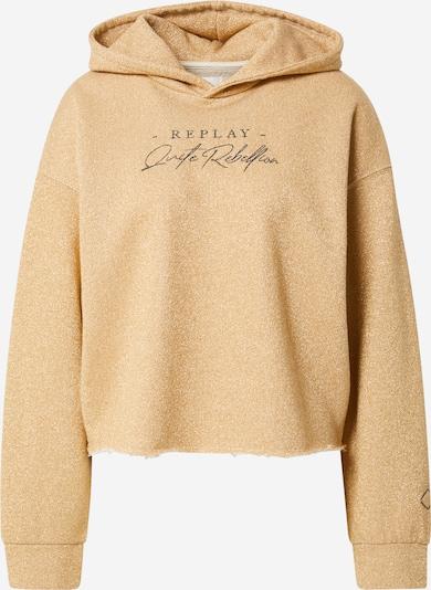 REPLAY Sweatshirt in hellbeige, Produktansicht