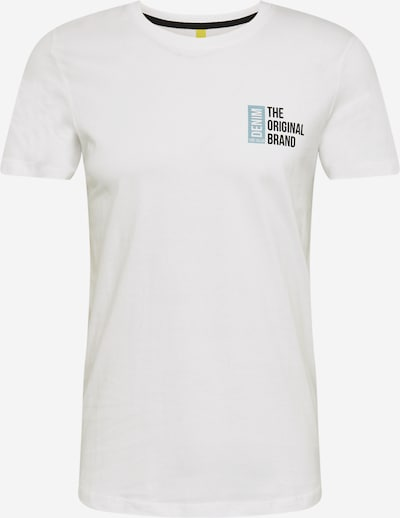 TOM TAILOR DENIM Tričko - mátová / černá / bílá, Produkt
