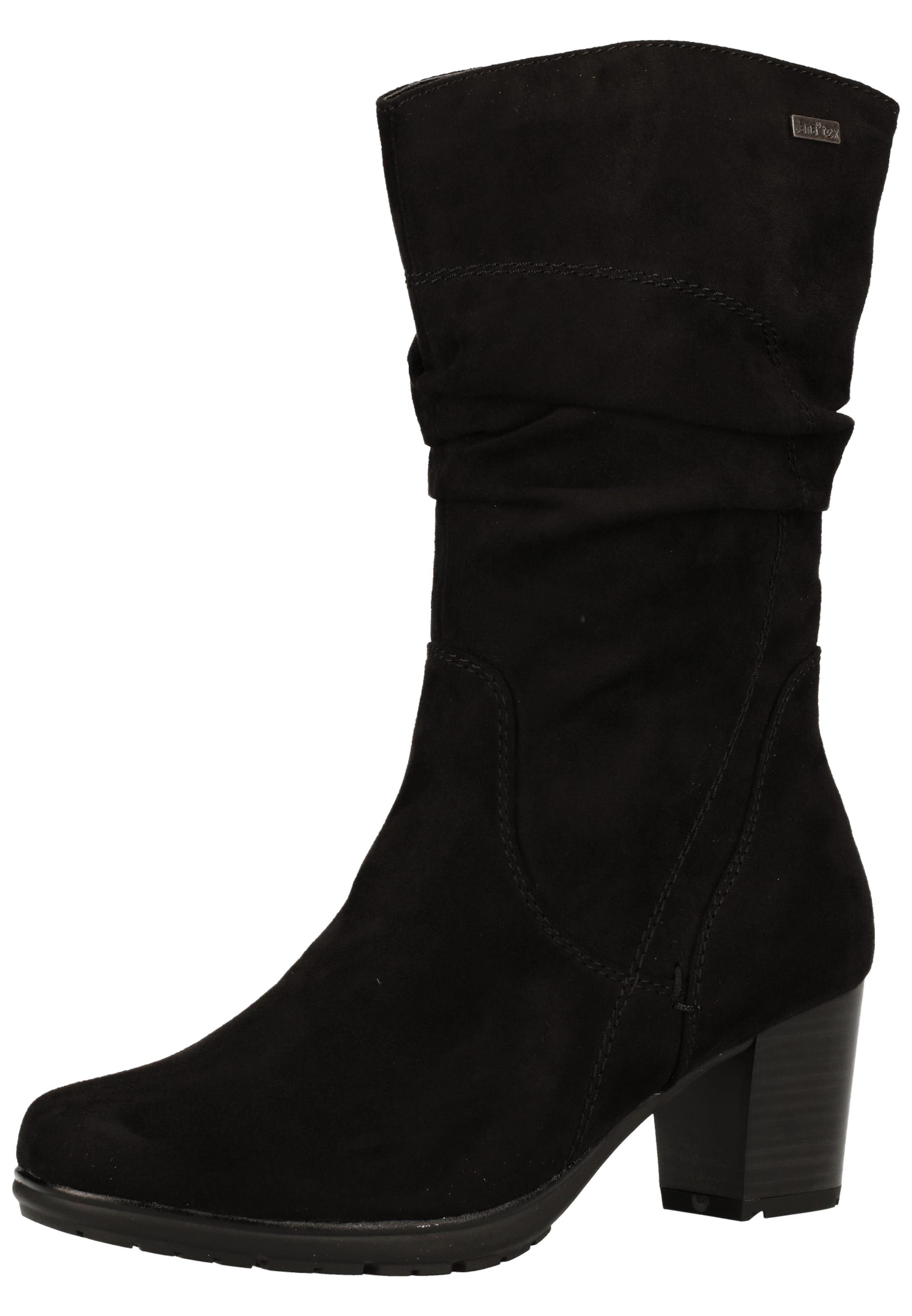 JANA Stiefel in schwarz