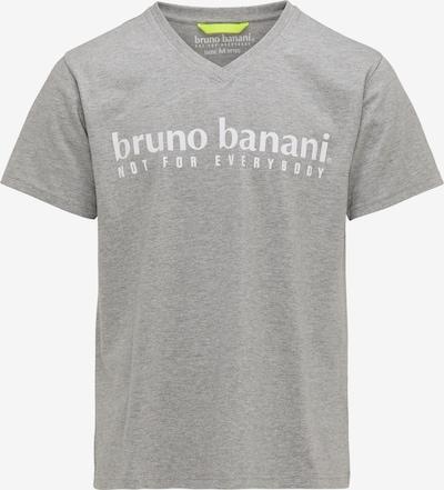BRUNO BANANI T-Shirt en gris, Vue avec produit