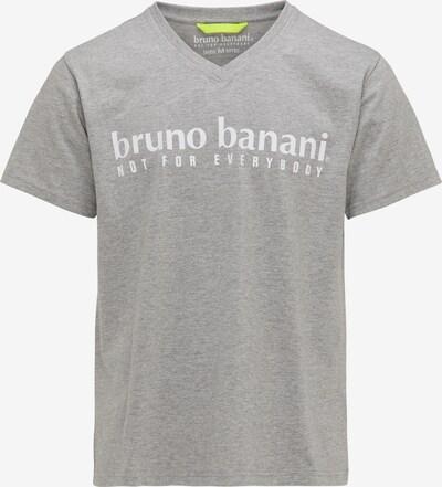 BRUNO BANANI Shirt in grau, Produktansicht