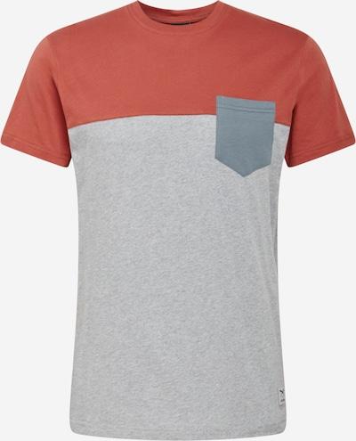 Iriedaily Tričko - čedičová šedá / šedý melír / melounová, Produkt