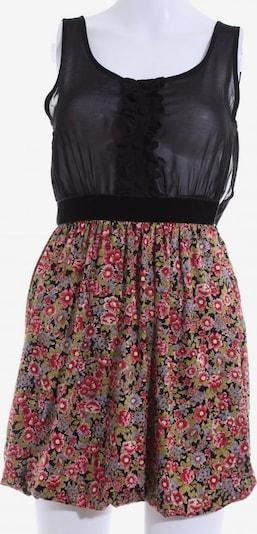 Miss Selfridge Minikleid in S in grün / pink / schwarz, Produktansicht