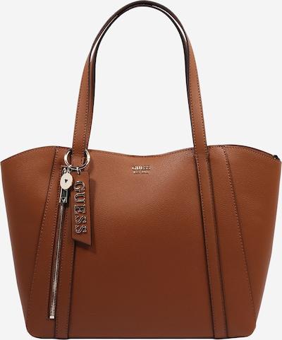Pirkinių krepšys 'NAYA' iš GUESS , spalva - karamelės, Prekių apžvalga