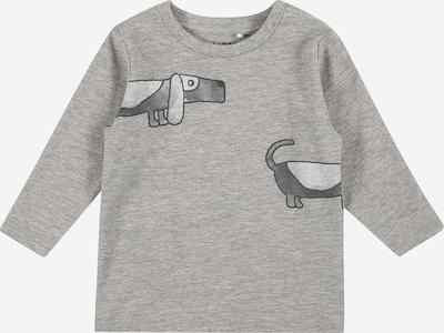 NAME IT Shirt 'KANYE' in de kleur Donkergrijs / Grijs gemêleerd, Productweergave