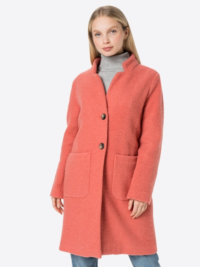 MORE & MORE Between-Seasons Coat in Pink, View model
