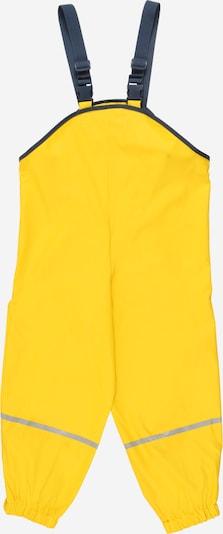 Pantaloni sport PLAYSHOES pe marine / galben neon / gri deschis, Vizualizare produs