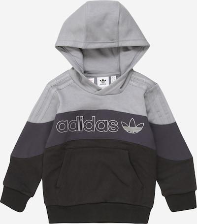 ADIDAS ORIGINALS Sweatshirt in blau / grau / schwarz, Produktansicht