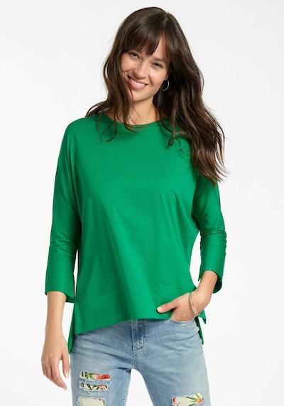 Peter Hahn Shirt in de kleur Groen: Vooraanzicht
