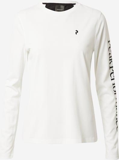 PEAK PERFORMANCE Functioneel shirt 'Alum Light' in de kleur Zwart / Wit, Productweergave