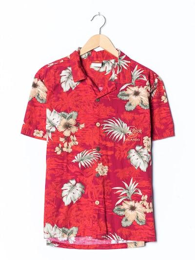 Hard Rock Cafe Hawaiihemd in M in rot, Produktansicht