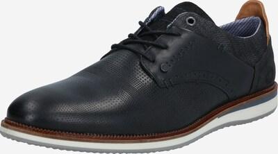 BULLBOXER Zapatos con cordón en marrón claro / negro, Vista del producto